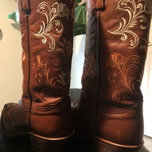 Western Leather Boots for women